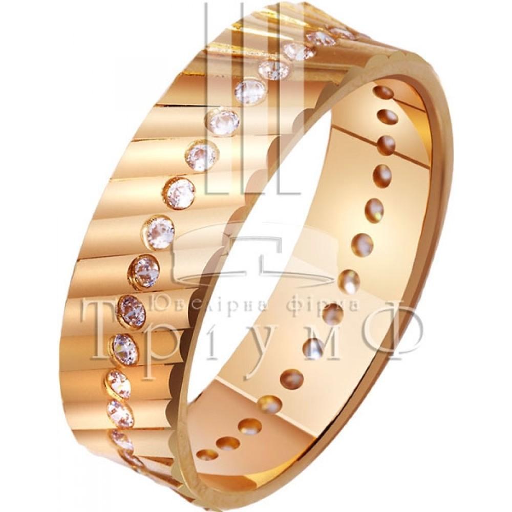 Обручальное кольцо 412391к
