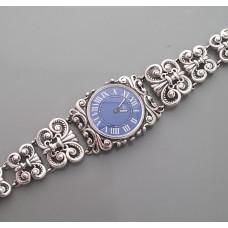 Серебряные часы 72