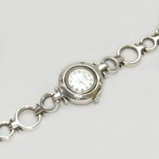 Серебряный часы бр-10019
