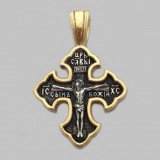 Срібний хрестик ЛЗ-34042