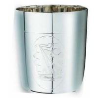 Серебряный стакан для воды Корабль ХЮ-080120