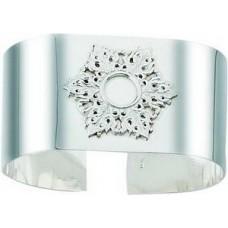 Серебряная салфетница ХЮ-080400