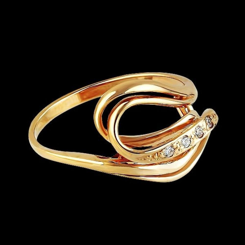 Золотое кольцо аг-111152