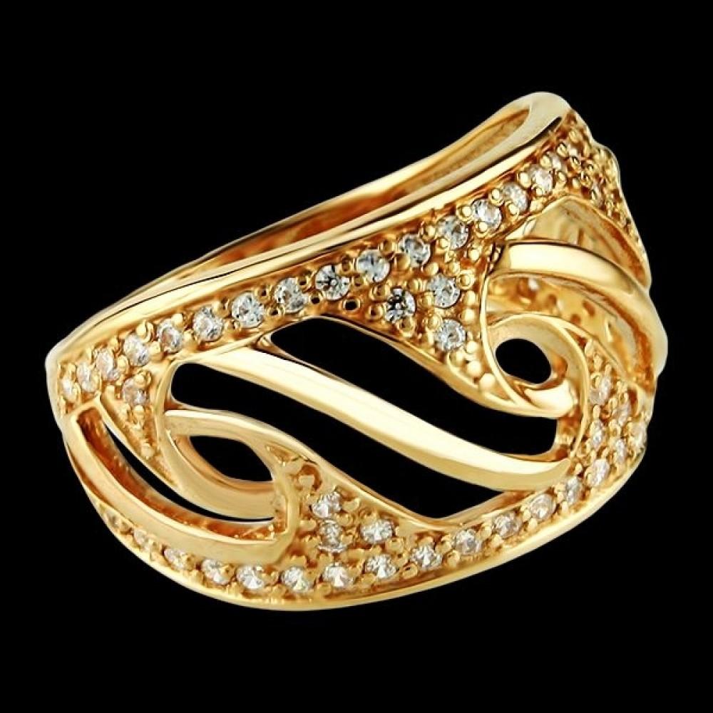 Золотое кольцо аг-111164