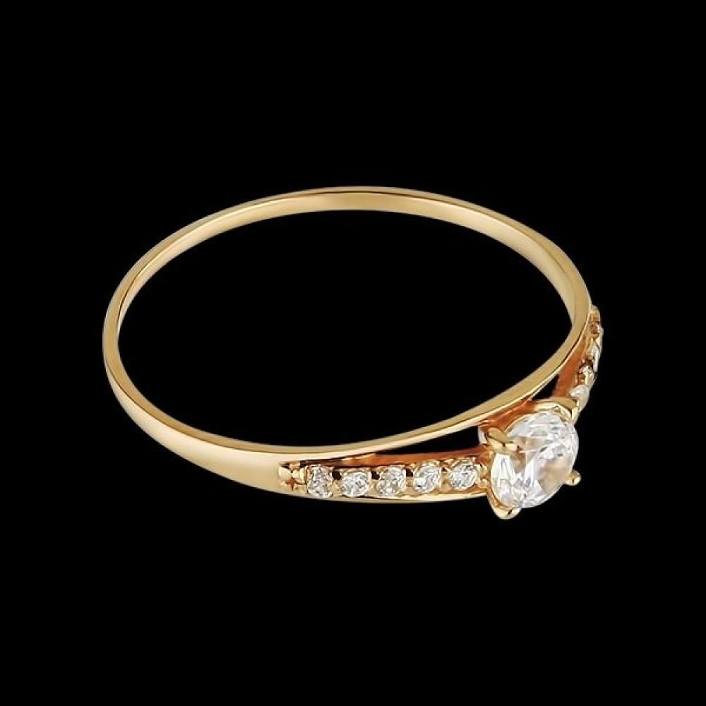 Золотое кольцо аг-111324