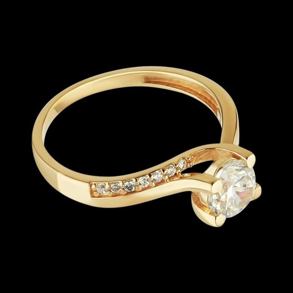Золотое кольцо аг-1710317