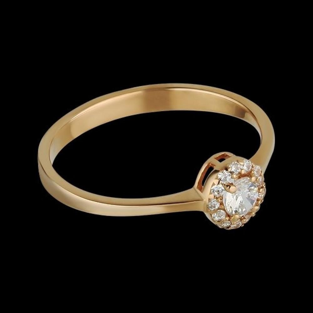 Золотое кольцо аг-1710318