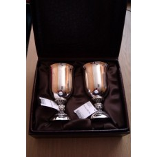 Набор серебряных бокалов бр-00011