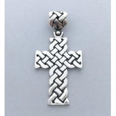 Срібний хрестик БК-166