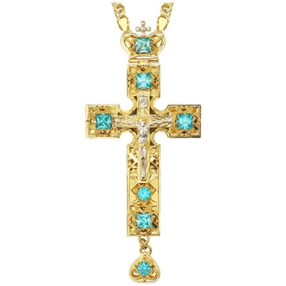 Крест латунный в позолоте 2.10.0142ЛП1ЛП