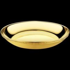 Чаша для омовения рук латунная в позолоте аг-2.7.0726ЛП