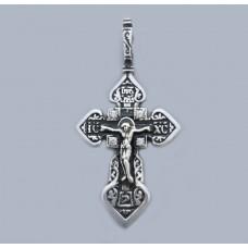Срібний хрестик БК-202