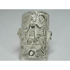 Срібна каблучка Луксор бр-2100304