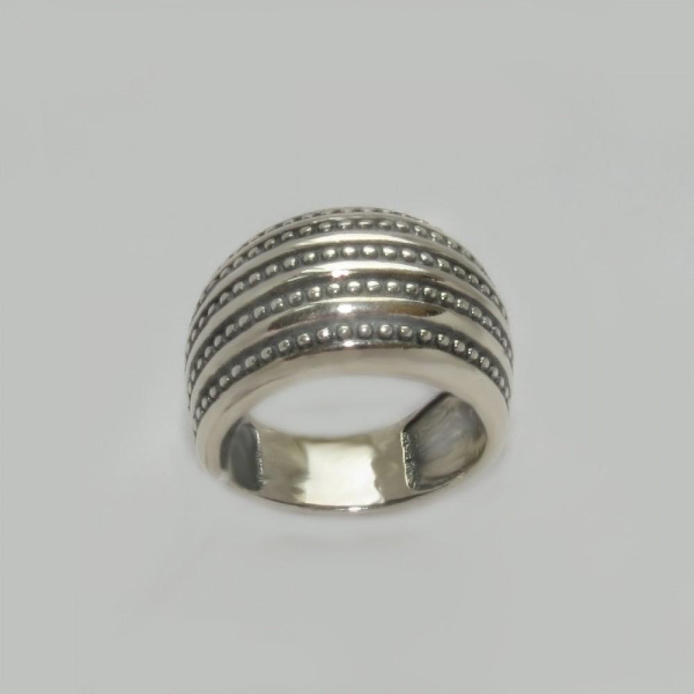 Срібна каблучка бр-00504