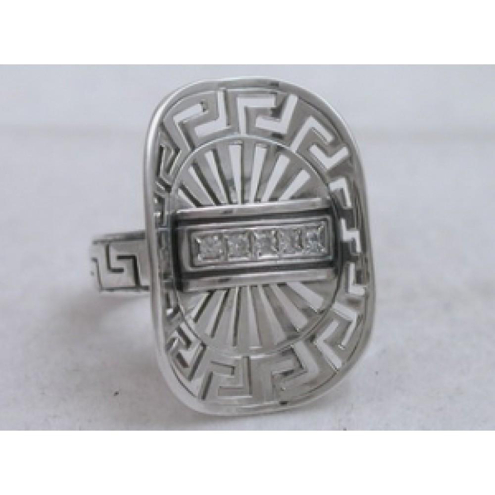 Серебряное кольцо бр-2110589