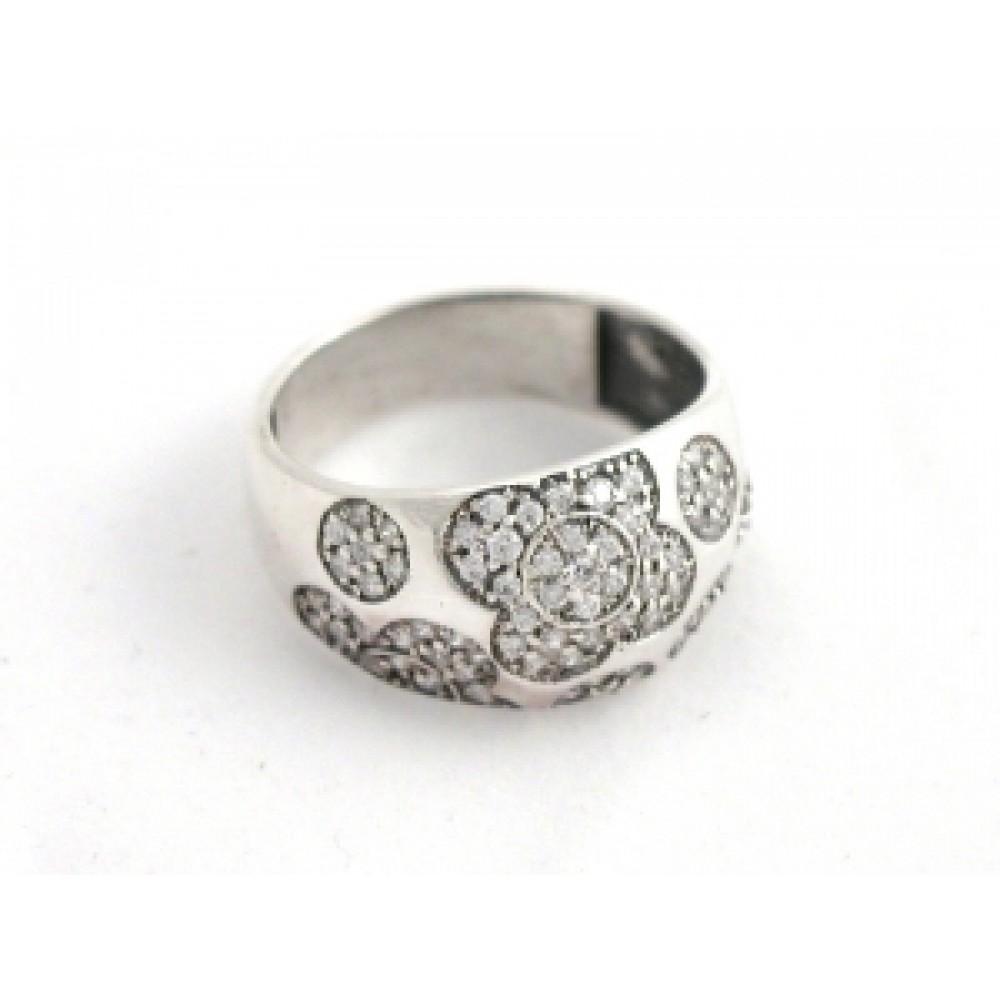 Серебряное кольцо бр-2111713