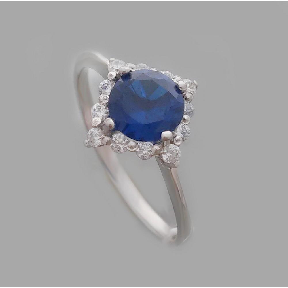 Серебряное кольцо бр-2113111