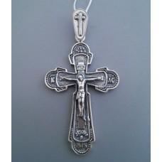 Срібний хрестик бр-3100431