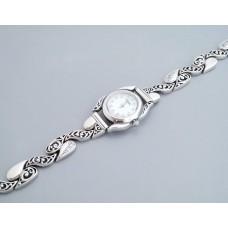 Серебряные часы Ручеек бр-7100009