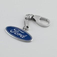 "Серебряный брелок ""Ford"" (Форд) 8303"