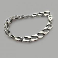 Серебряный мужской браслет БР-0025951