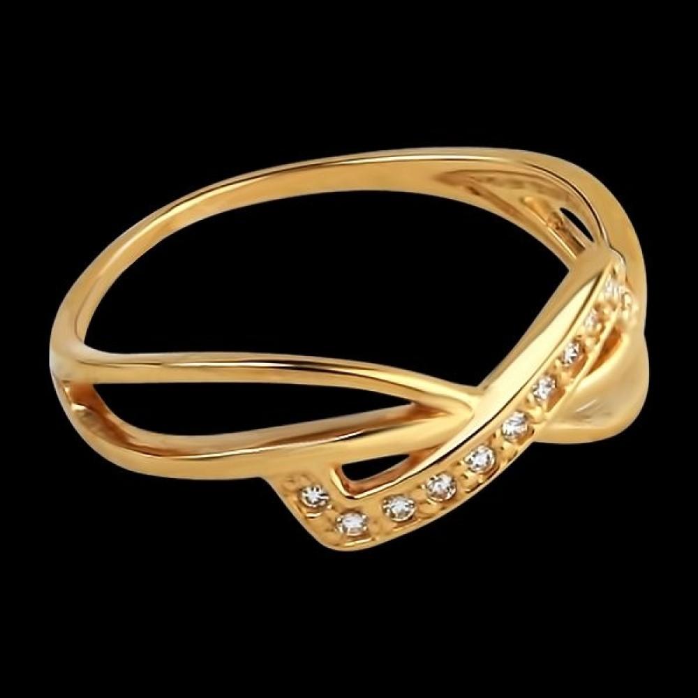 Золотое кольцо аг-111258