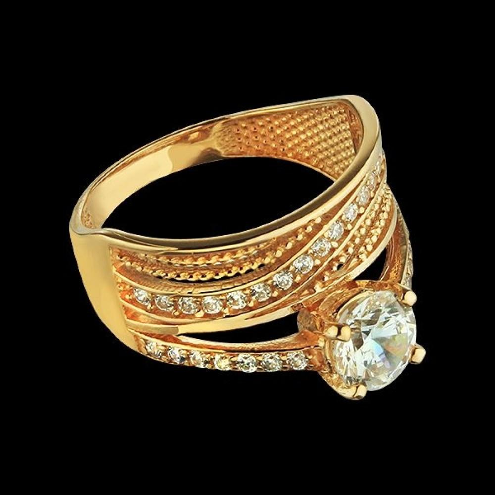 Золотое кольцо аг-111466