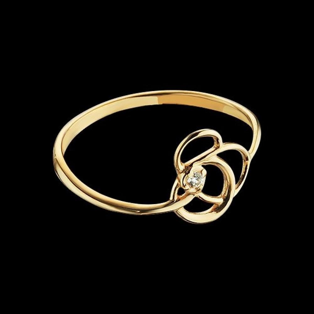 Золотое кольцо аг-111561