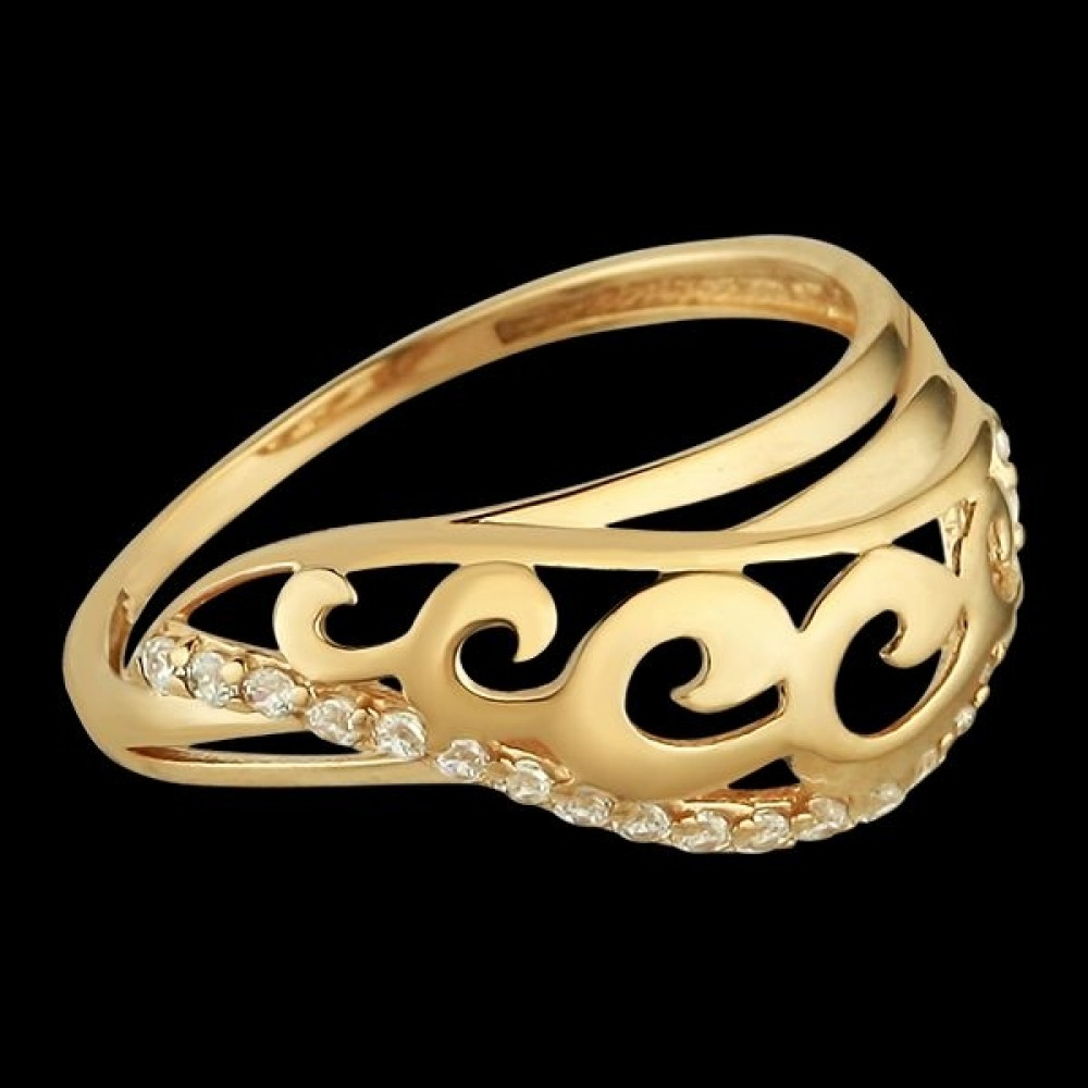 Золотое кольцо аг-1710303
