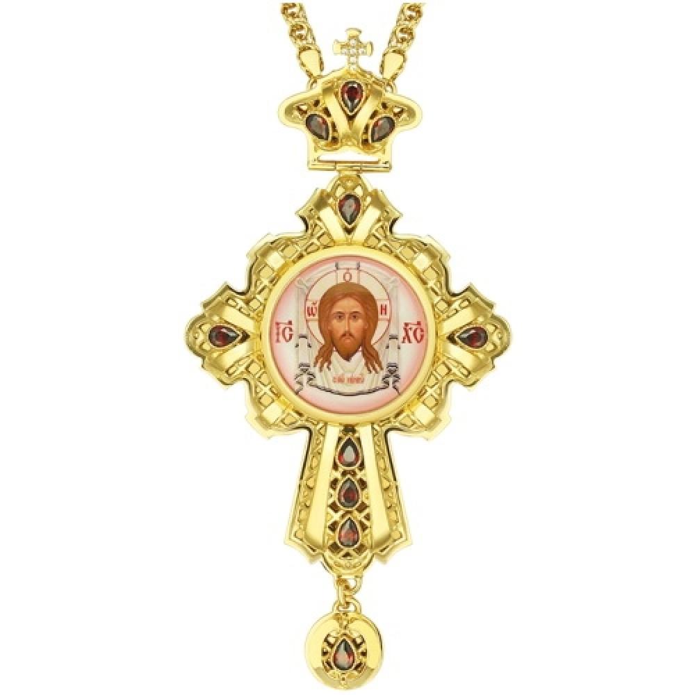 Крест латунный в позолоте 2.10.0141ЛП-21ЛП