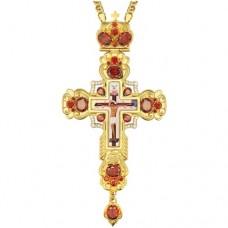 Крест наперсный латунный 2.10.0144ЛП-21ЛП
