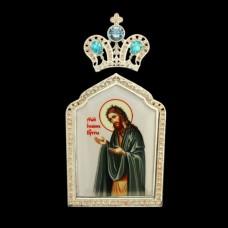 """Накладка на митру латунная """"Иоанн Креститель"""" аг-2.7.0388ЛИ"""