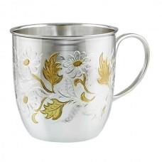 "Серебряная чашка ""Цветочек"" АГ-280099"