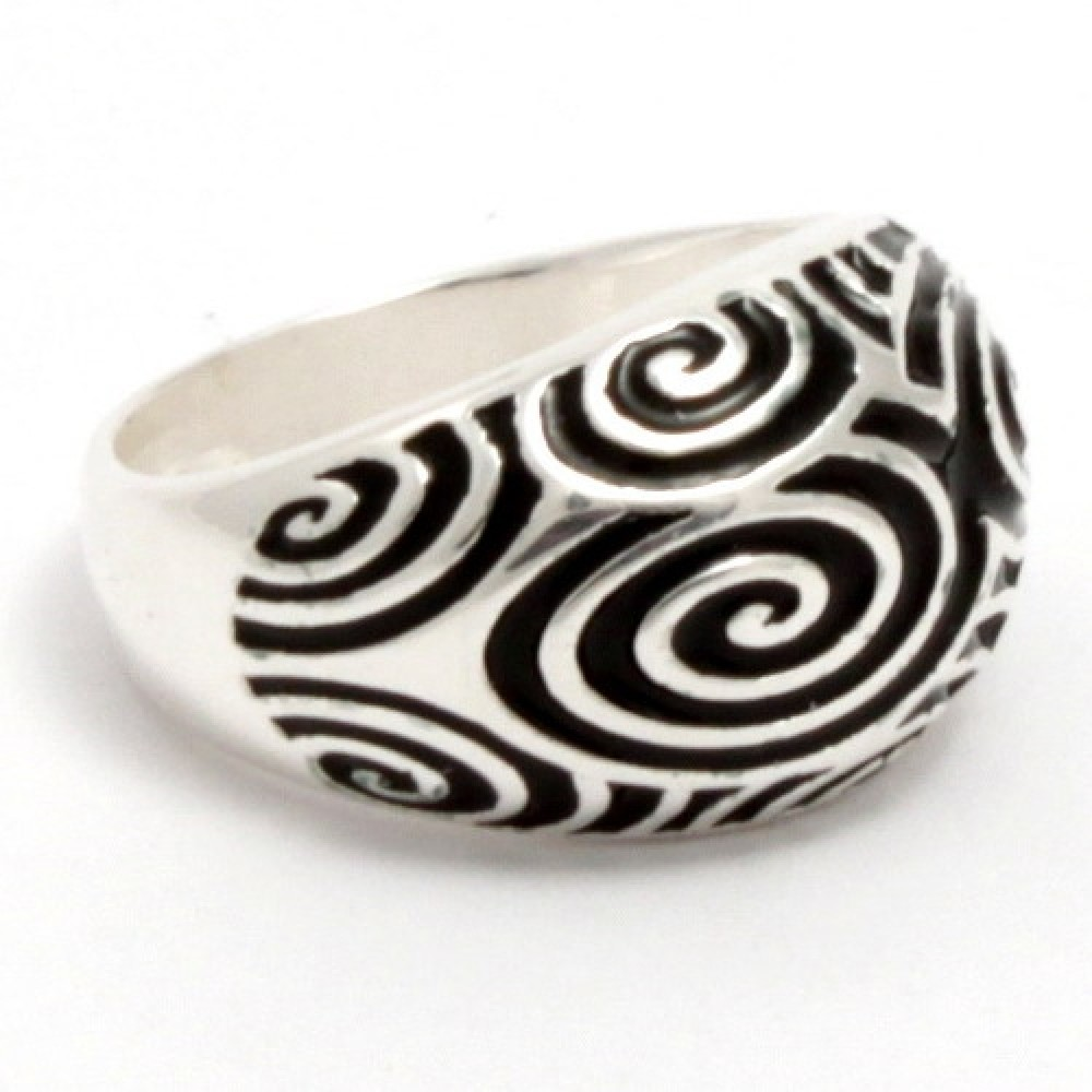 Серебряное кольцо бр-2100467