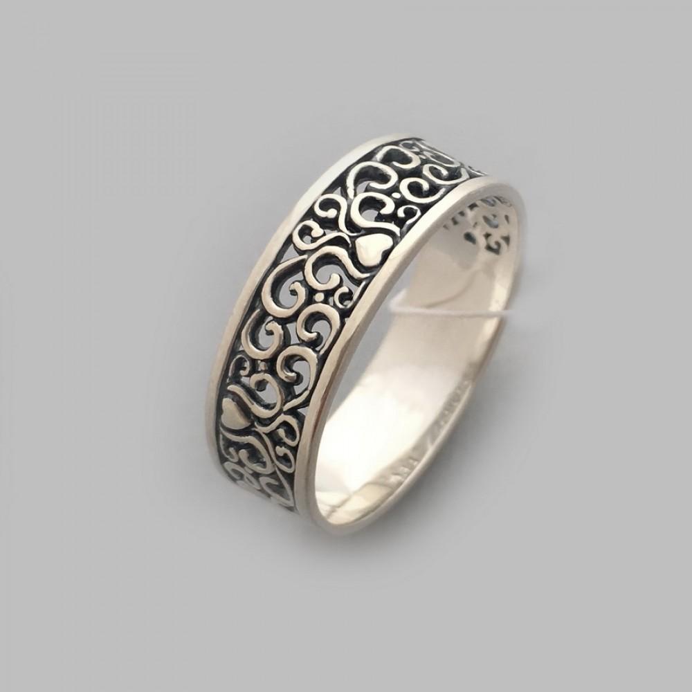 Серебряное кольцо бр-0060521