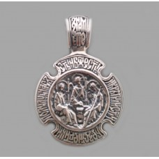 Серебряная ладанка 108 бр-3100555
