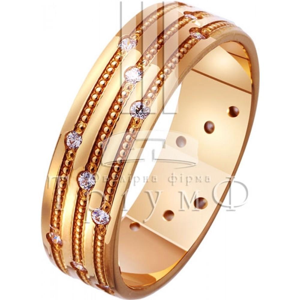 Обручальное кольцо 412255к