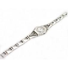 Серебряный часы бр-10022