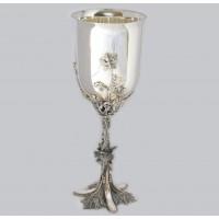 Срібний келих Виноградна лоза бр-8100053