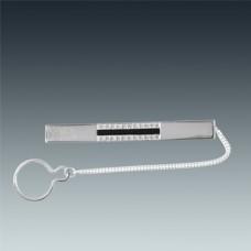 Срібний затискач для краватки ЛЗ-9630