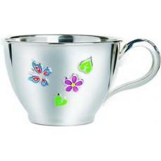 """Срібна чашка """"Метелик"""" ХЮ-080338"""