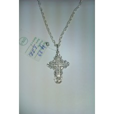 Срібний хрестик ст-89