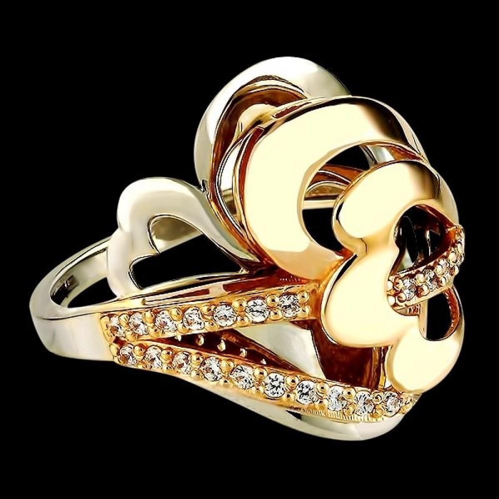 Золотое кольцо аг-111163