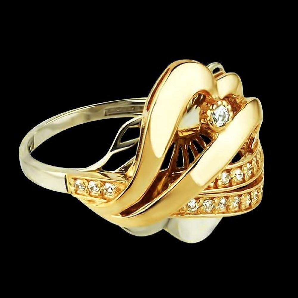 Золотое кольцо аг-111208