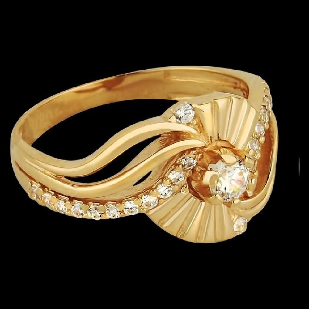 Золотое кольцо аг-111254
