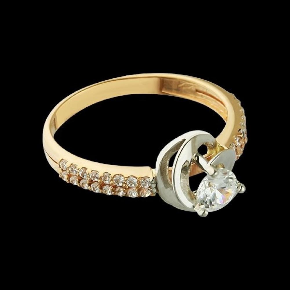 Золотое кольцо аг-111370