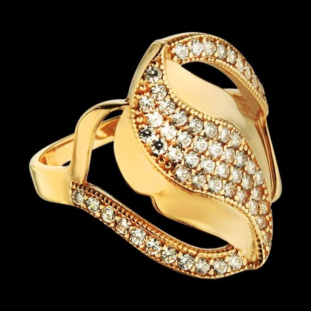 Золотое кольцо аг-111519