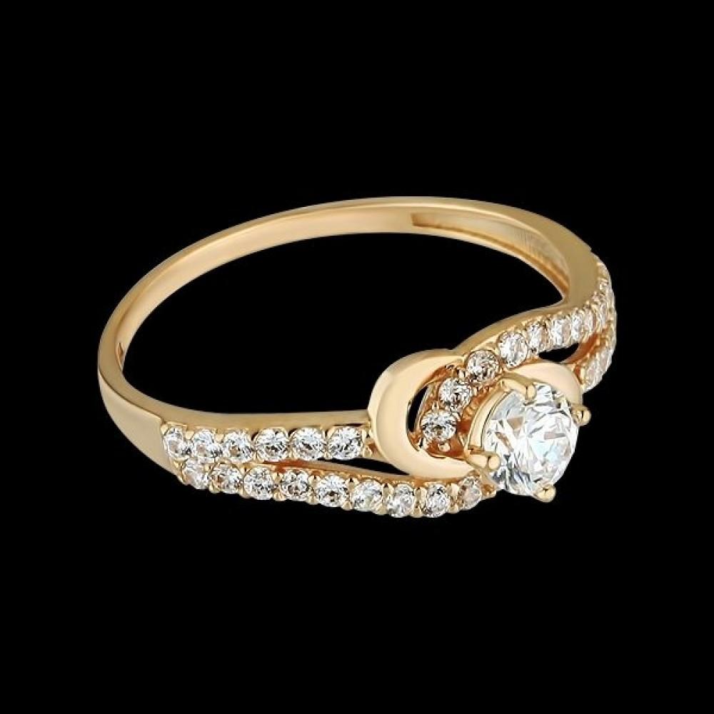 Золотое кольцо аг-1710307