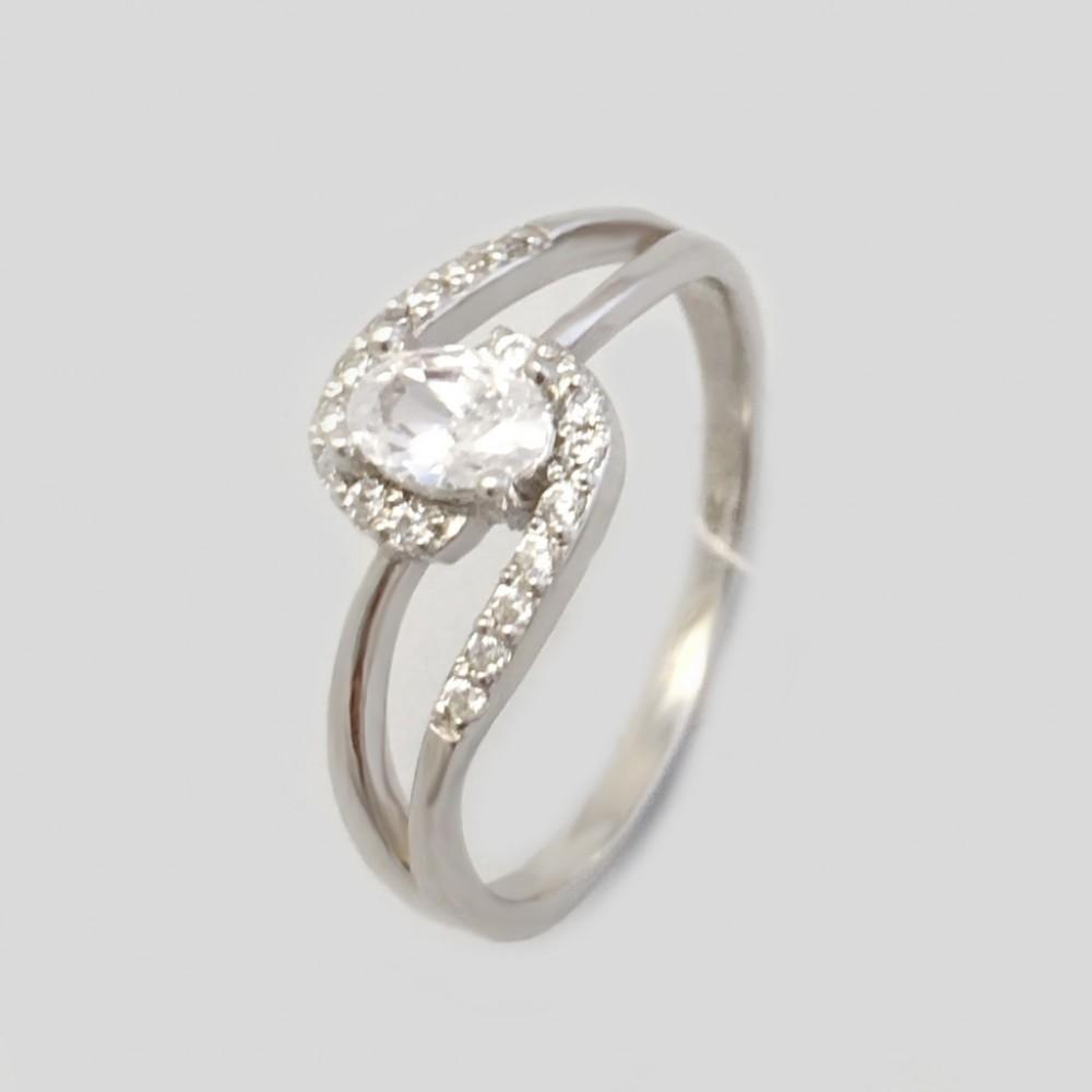 Серебряное кольцо ЛЗ-11023