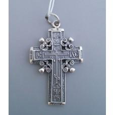 Срібний хрестик бр-3100407